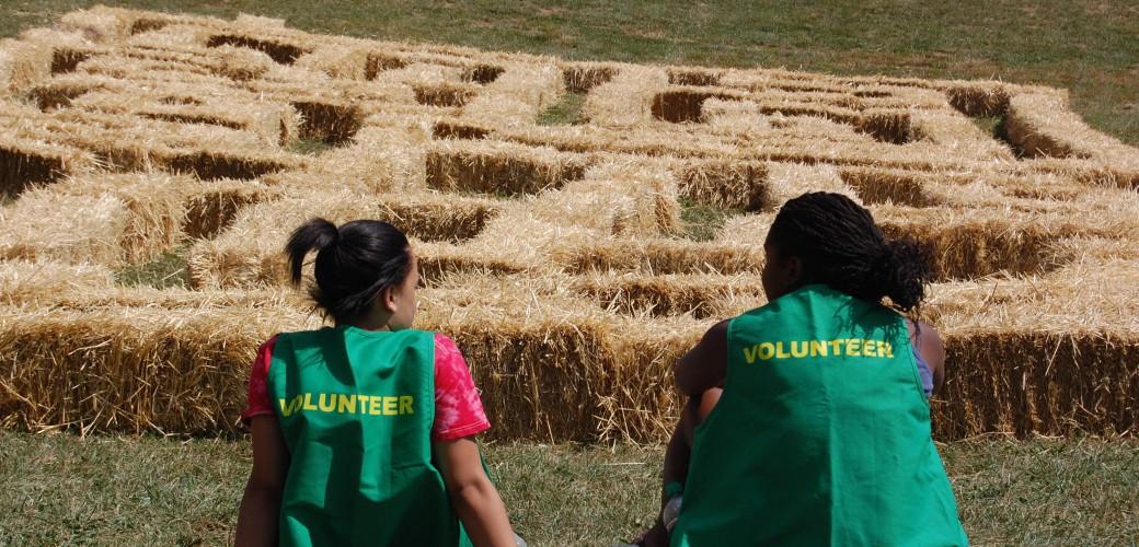 Volunteer for the Corn Maze
